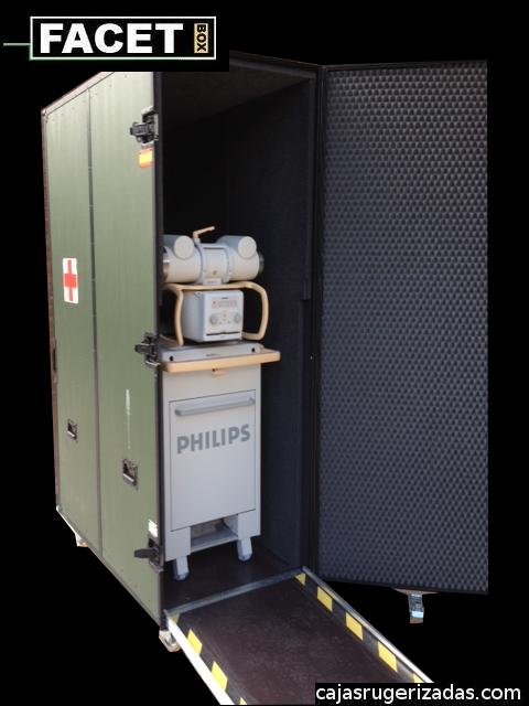 Caja a medida para Philips bv libra rayos x