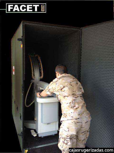 Caja de transporte Practix 400 Philips rayos X