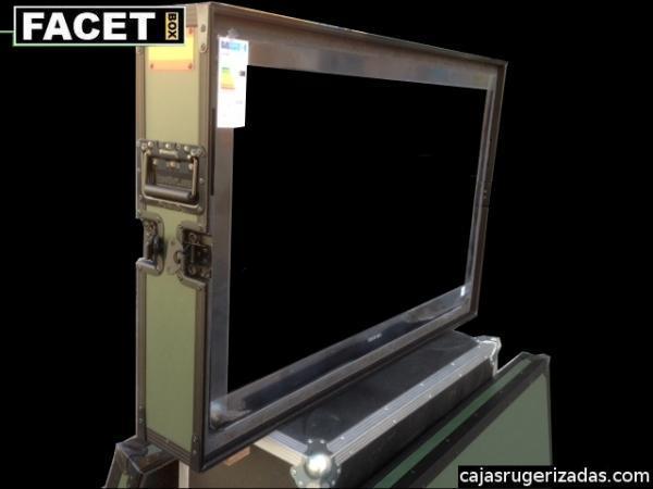 Caja rugerizada para pantalla de plasma